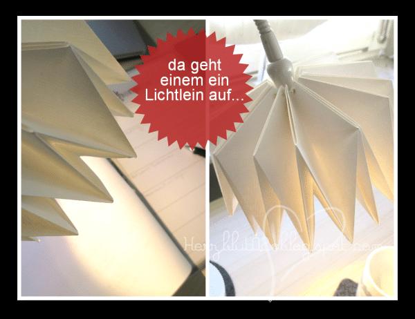 Origami Lampenschirm