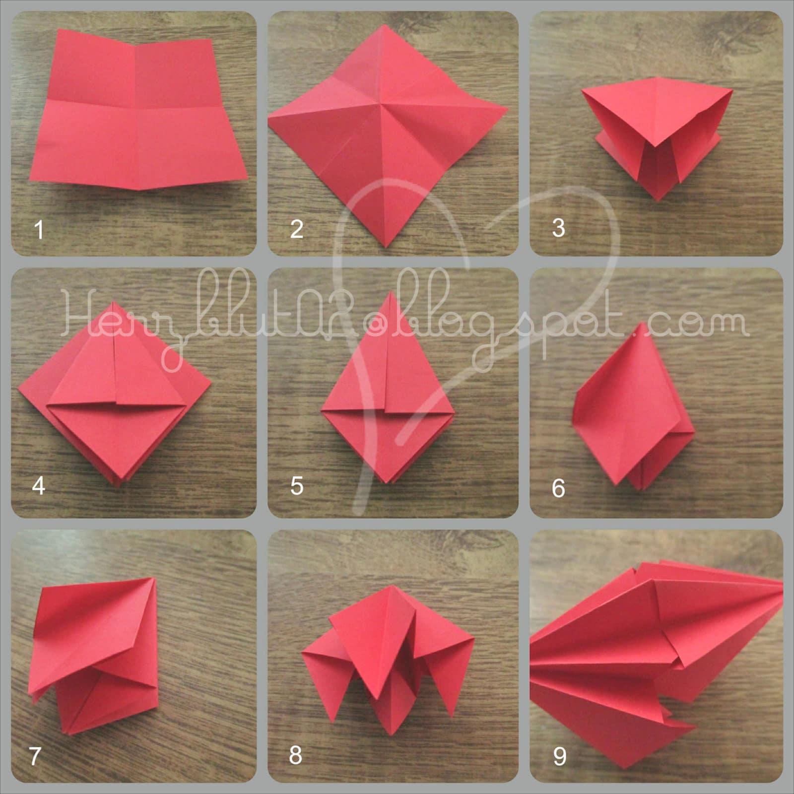 origami ornamente handmade kultur. Black Bedroom Furniture Sets. Home Design Ideas
