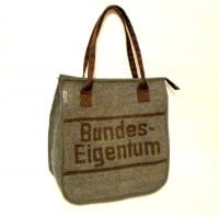 Wolldecken Recycling-Shopper