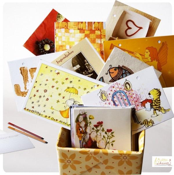 Ewiger Kalender - Erinnerungsbox