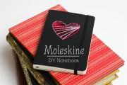 Moleskine DIY zum Valentinstag & gewinnt ein Moleskine Notizbuch!