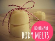 DIY: Body Melts / Massage Bars