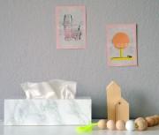 DIY Tempobox im Marmor Look