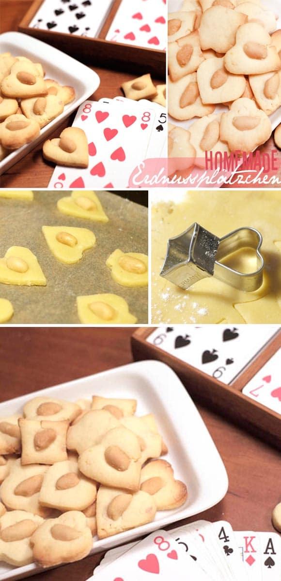 Rezept: Erdnussplätzchen