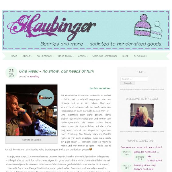 Haubinger - Beanies and more.