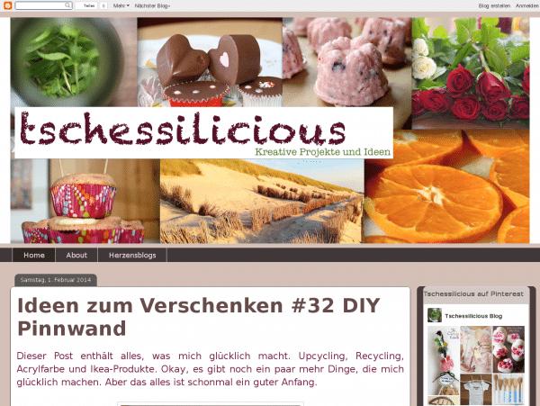 tschessilicious - Kreative Projekte und Ideen