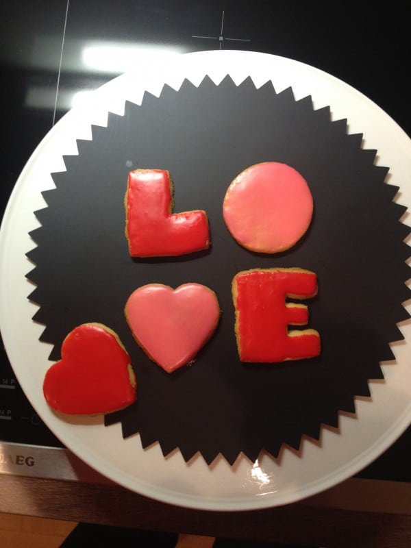 Last minute valentine DIY Projekt Teil 1