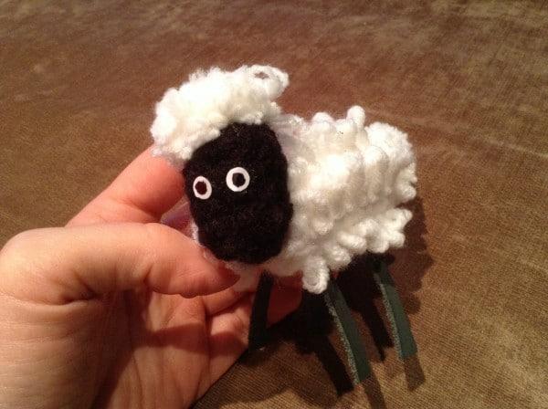 Häkelanleitung Schaf für Shawn