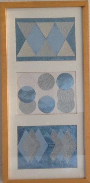 Geometrie in Eisfarben