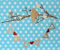 Wimpelkette zum Valentinstag (Freebie)