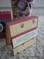 Last Minute Valentins DIY - Post it Halter für liebe Worte
