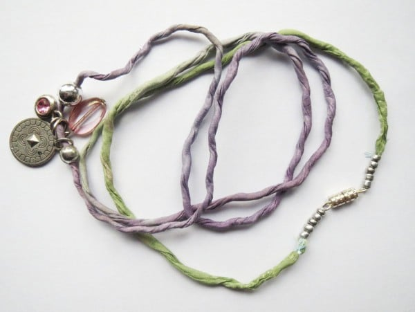 Seidenarmband