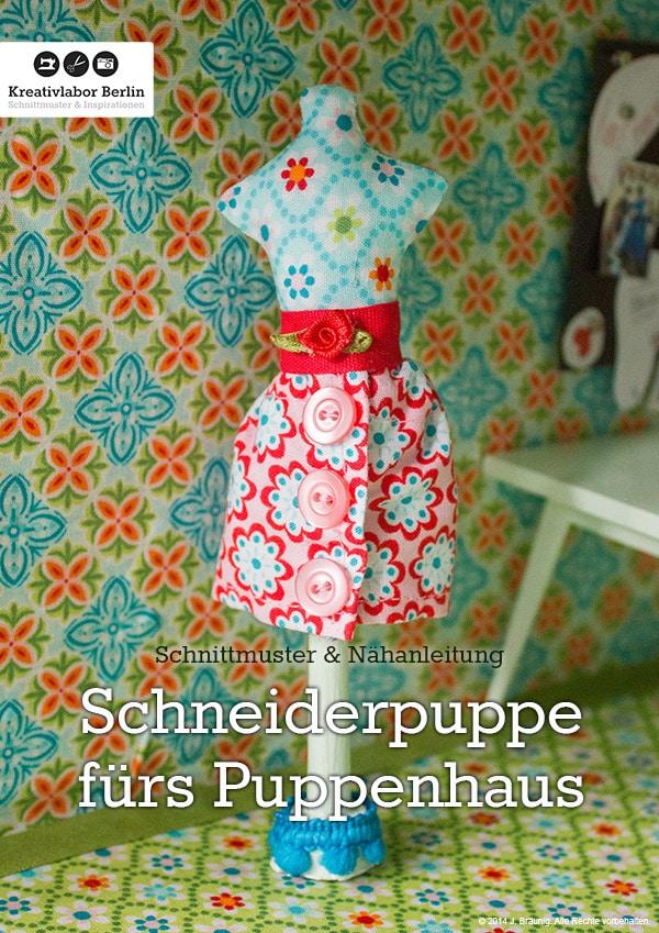 Mini schneiderpuppe f r das puppenhaus handmade kultur for Schneiderpuppe ikea