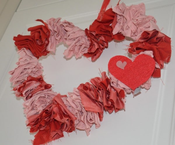 DIY Upcycling Valentins Deko