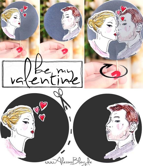[DIY] Valentinstag: Kuss-Szene