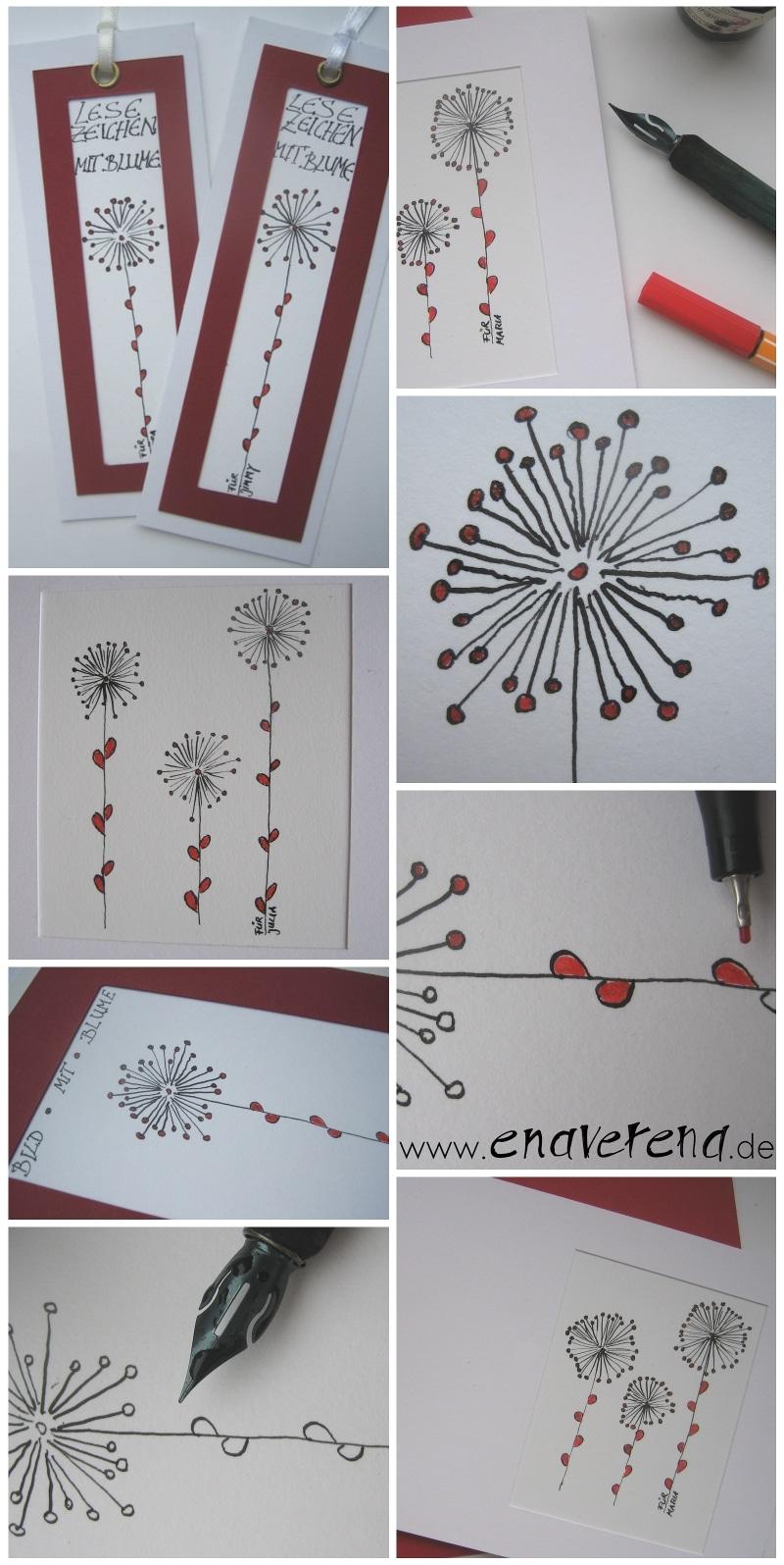 Zarte Karten Handmade Kultur