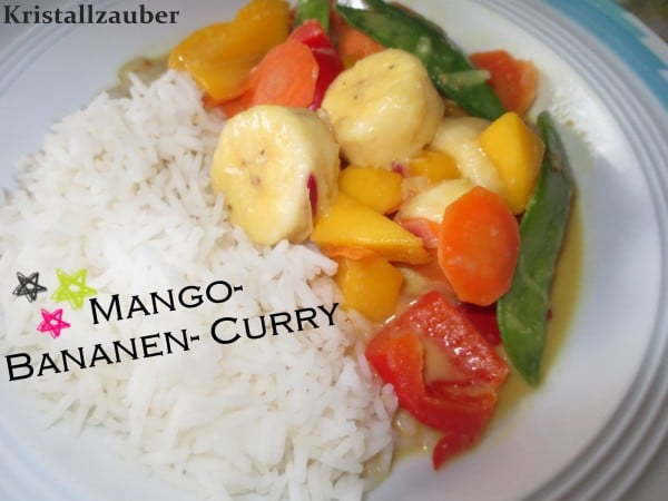 Rezept: Mango- Bananen- Curry