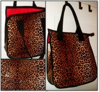 Tote Bag im animal print