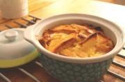 Brotpudding mit gesalzenem Karamell