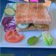 Veganes Falafelsandwich