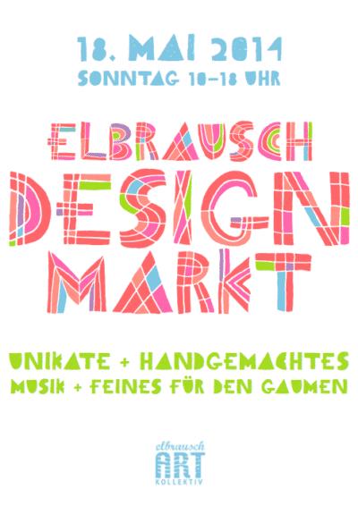 Elbrausch Sommer Designmarkt 2014