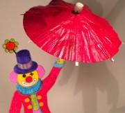 Cake Topper - Lustiger Clown auf dem Hochseil