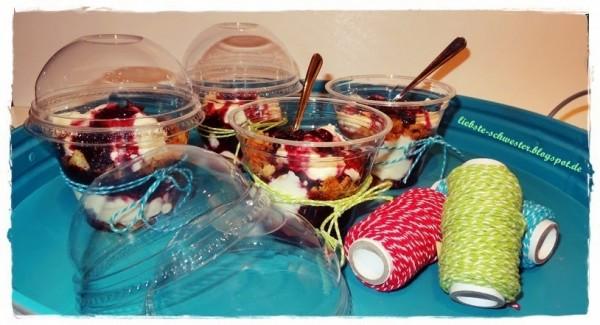 Törtchenzeit: Käsekuchen im Glas