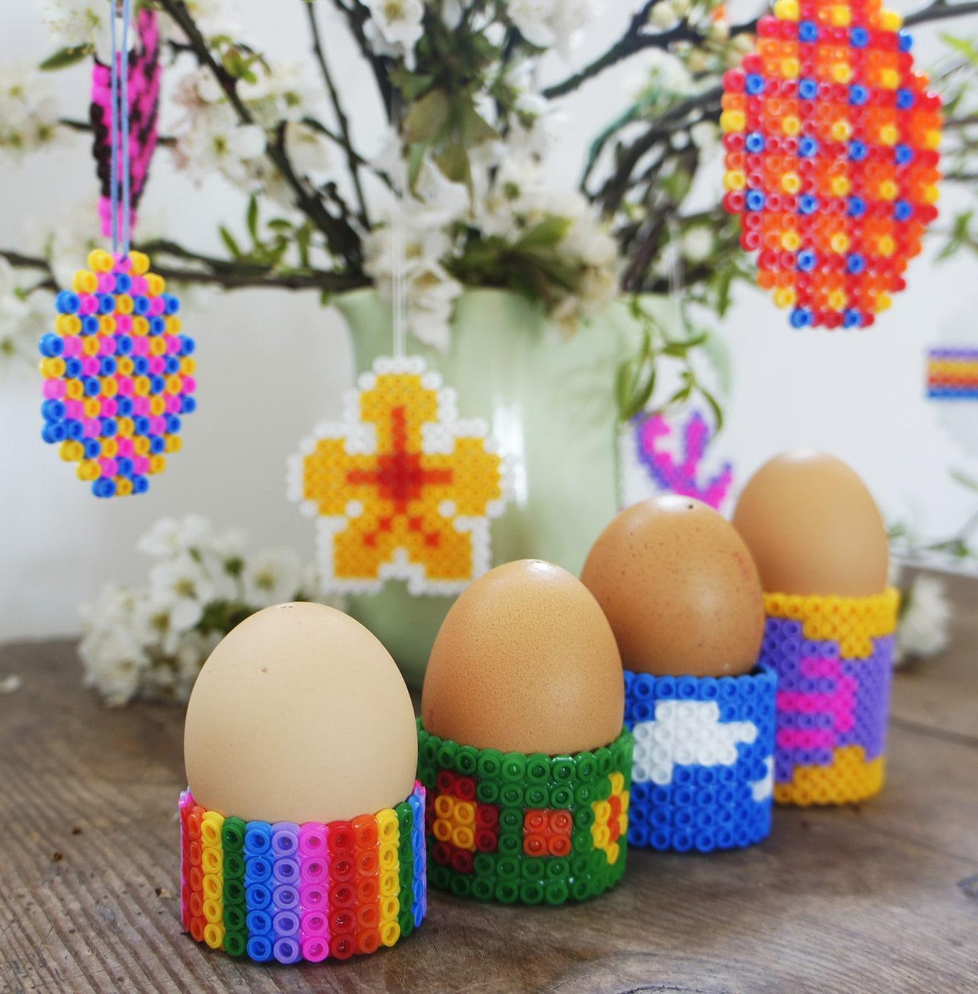 Diy eierbecher aus b gelperlen basteln handmade kultur - Eierbecher selber basteln ...
