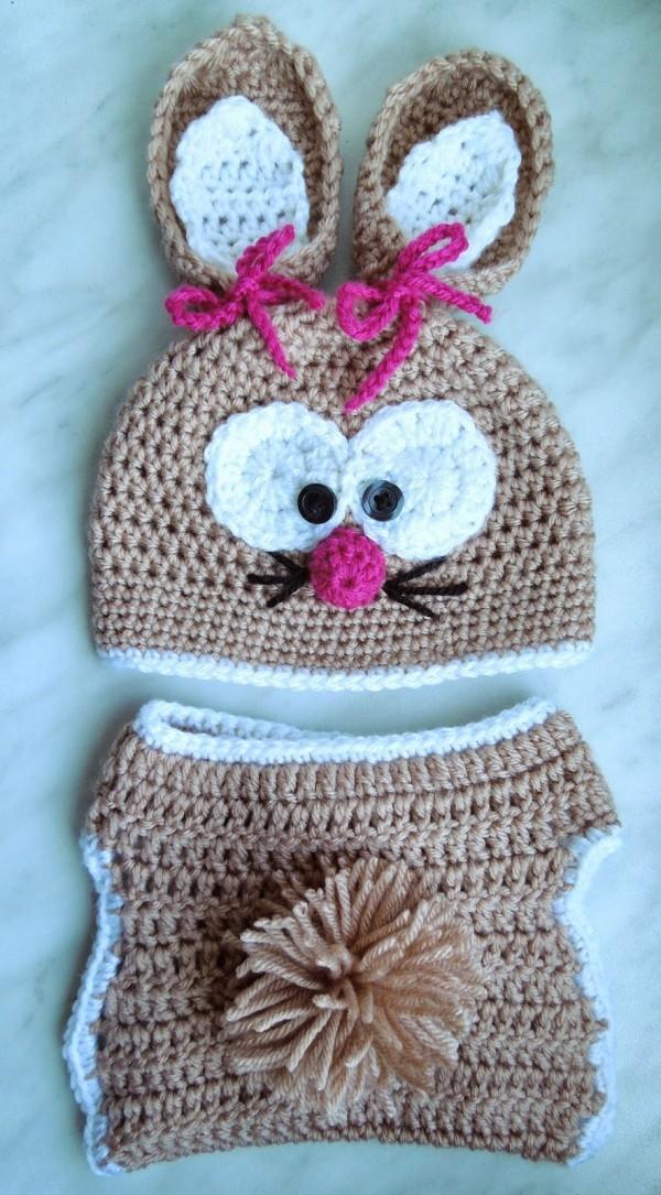Süßes Hasenkostüm für die Kleinsten...