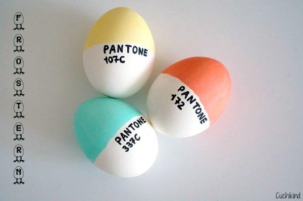 DIY: Pantone-Eier