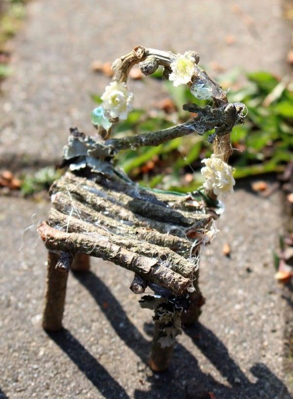 Minimöbel für die Gartenfeen