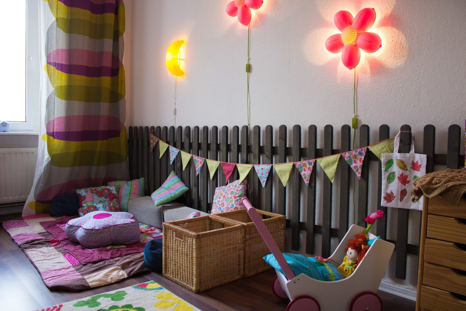 kinderzimmerdeko handmade kultur. Black Bedroom Furniture Sets. Home Design Ideas