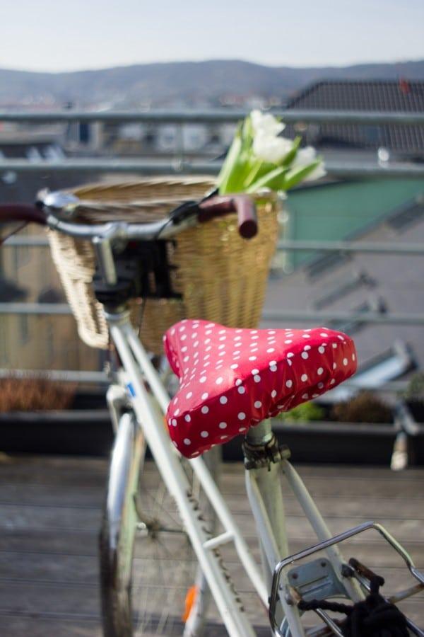 Fahrradsattelbezug - kostenlose Nähanleitung