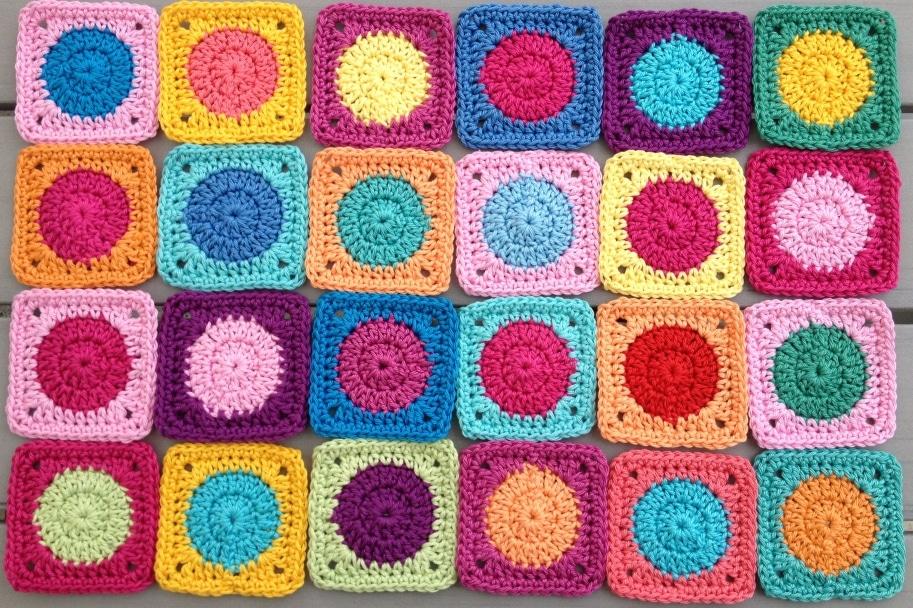 Tutorial Mini Squares Handmade Kultur