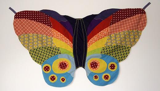 Schmetterlingskostum Handmade Kultur