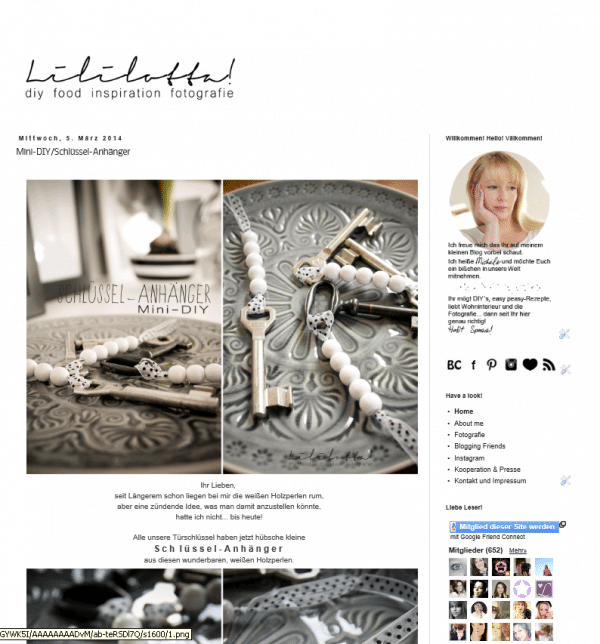 Lililotta DIY FooD Inspiration Fotografie
