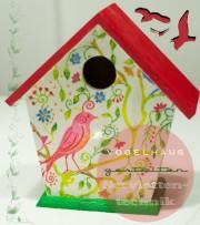 Gestalte Dein individuelles Vogelhaus
