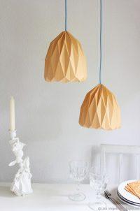Origami-Lampe