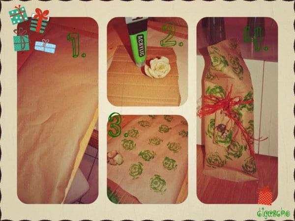 Geschenkpapier zum Selbermachen