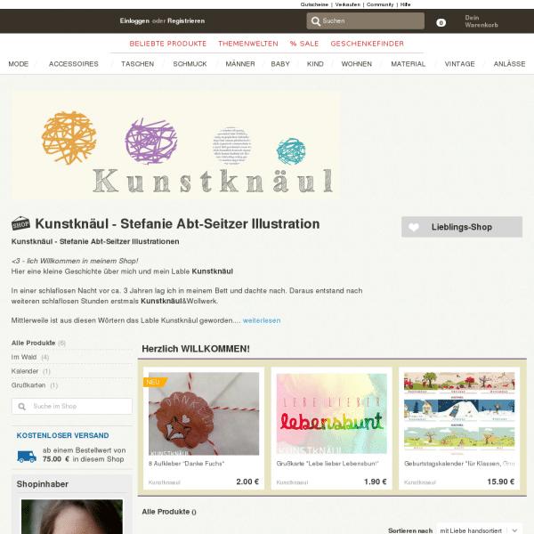 Kunstknäul - Stefanie Abt-Seitzer Illustration