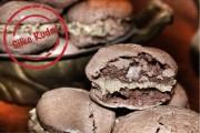 Erdnussbutter-Schokoladen Macarons
