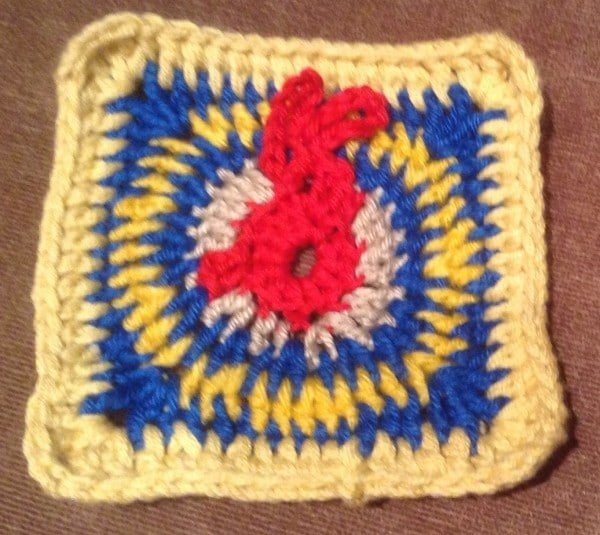 Oster Granny Square Anleitung
