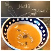 Schnelle Möhren-Ingwer-Suppe