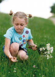 Kinder-Shirt Blumenwiese