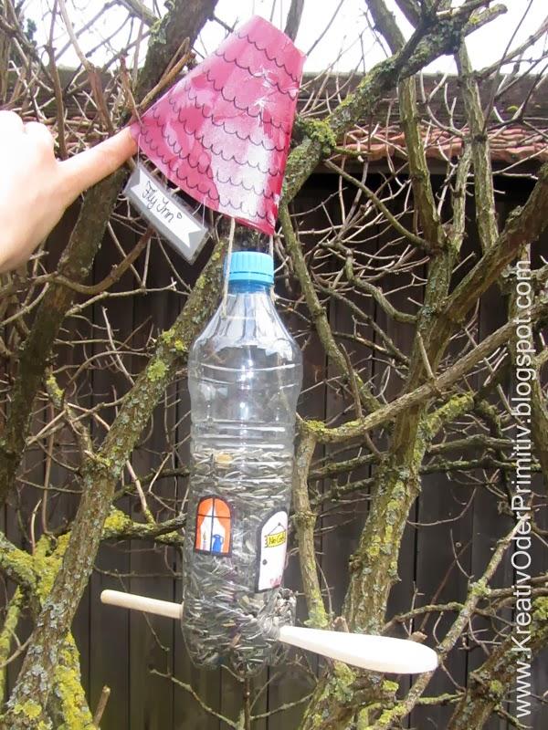 Upcycling Vogelhaus Handmade Kultur