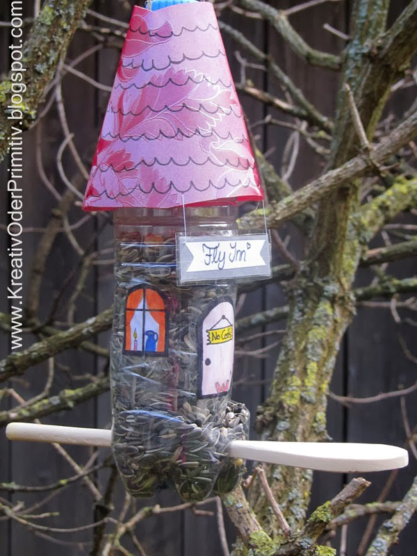 Upcycling Vogelhaus