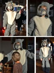 DIY Wolfkostüm