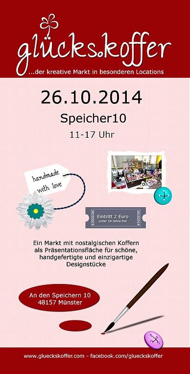 gl kreative markt in besonderen locations m nster im speicher10. Black Bedroom Furniture Sets. Home Design Ideas
