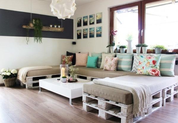 couch aus europaletten - handmade kultur, Garten und Bauen