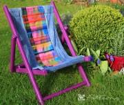 Kinderliegestuhl runderneuert